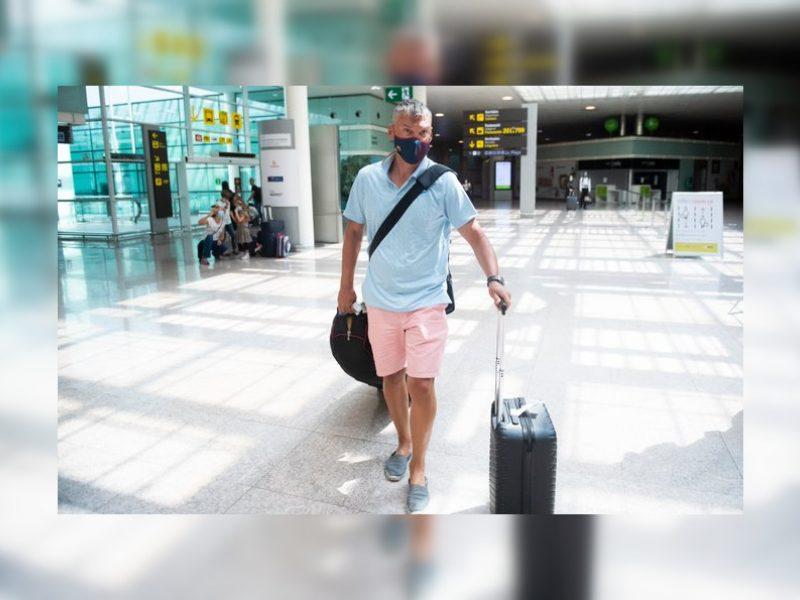 Sirgalių pasitiktas Š. Jasikevičius jau atvyko į Barseloną
