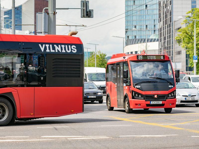 Vilniaus planuose – devyni nauji viešojo transporto maršrutai ir per 20 ekologiškų autobusų
