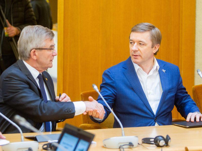 """R. Karbauskis: Seimo pirmininko nuomonė neturi nieko bendro su """"valstiečių"""" nuomone"""