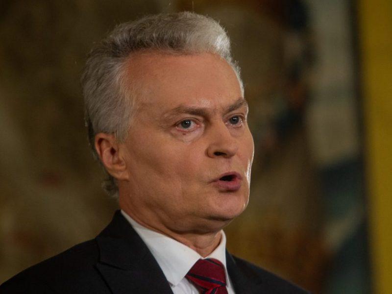 G. Nausėda: svarbu, kad ES sankcijos paveiktų A. Lukašenkos režimą, o ne eilinius baltarusius