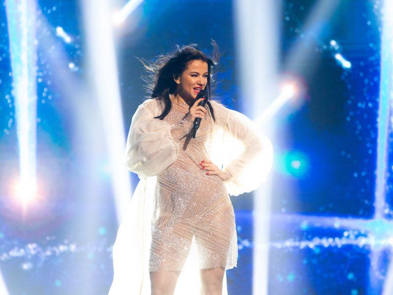 """Trečiosios """"Eurovizijos"""" nacionalinės atrankos filmavimas"""