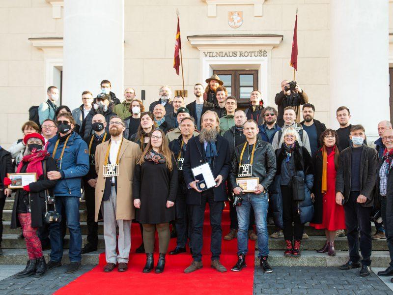 Pagerbti ir apdovanoti spaudos fotografai