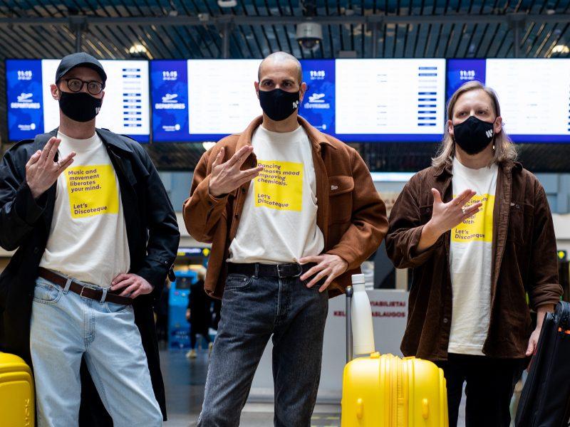 """""""Eurovizija"""": grupė """"The Roop"""" išlydėta į Roterdamą"""