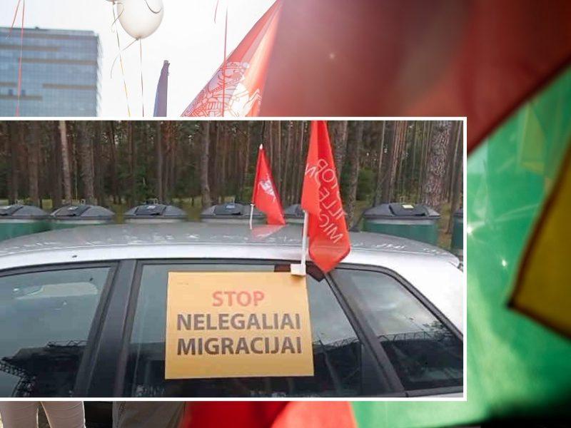 Šeimų maršo organizatoriai vėl surengė protestą: reiškia nepasitenkinimą nelegaliais migrantais