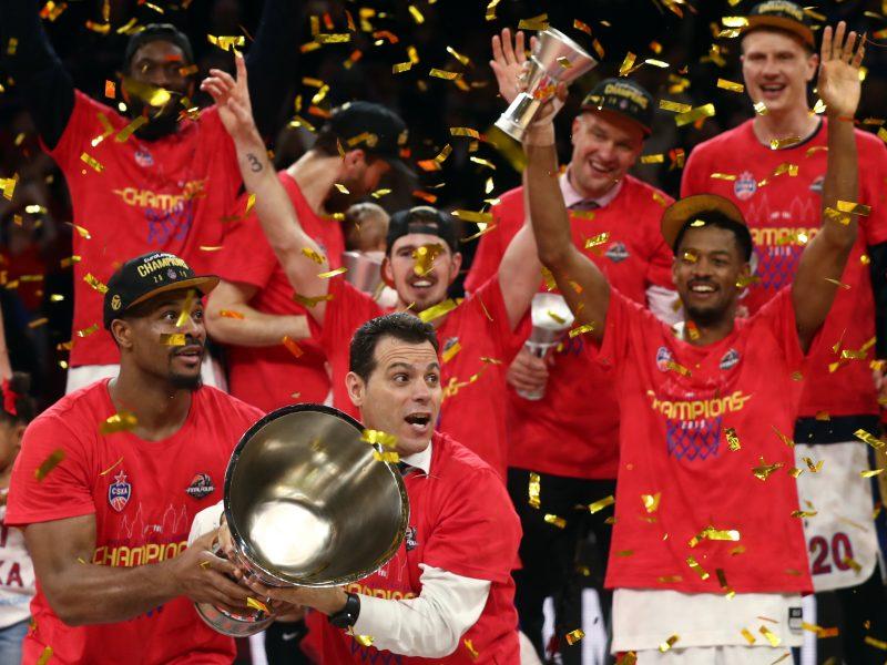 CSKA – stipriausia Eurolygoje