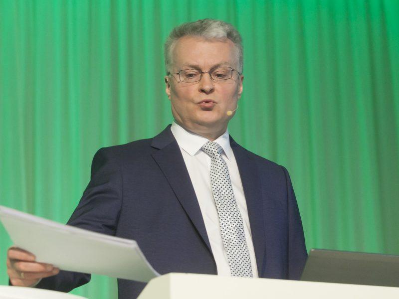Ekonomistas G. Nausėda pirmadienį paskelbs sprendimą dėl prezidento rinkimų