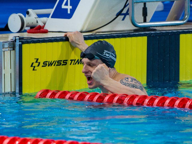 E. Matakas – Europos žmonių su negalia plaukimo čempionas