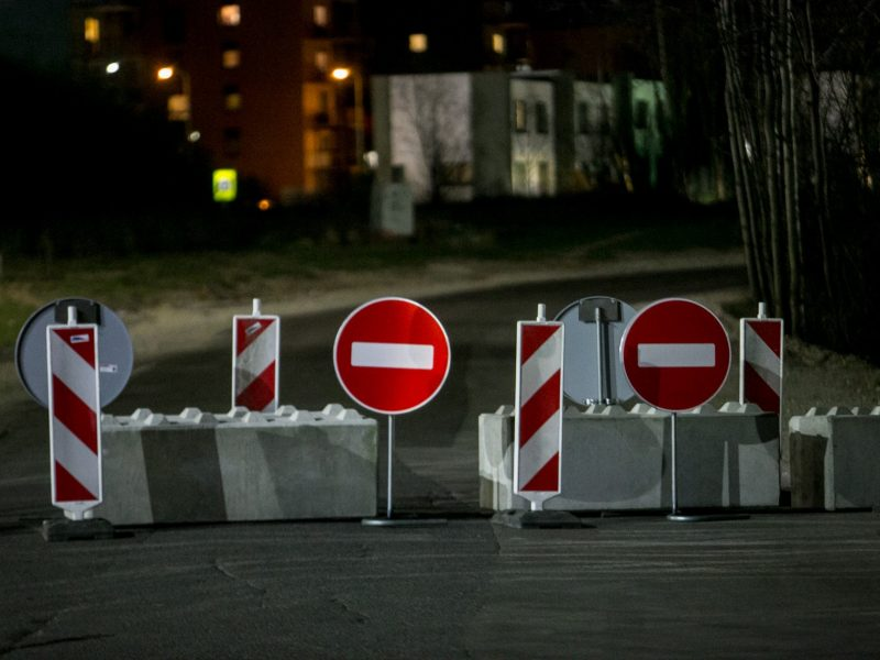 Kaunas uždaromas beveik trims paroms: įvažiuoti galės tik pateikę ...