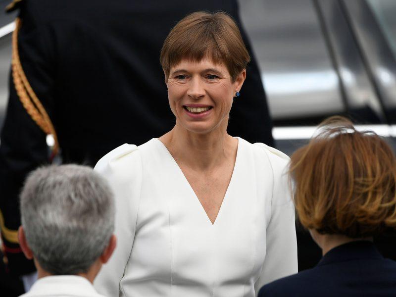 Estijos konservatorių lyderis: prezidentė turi atsistatydinti