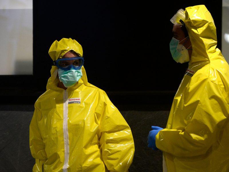 Marijampolėje nustatytas pirmasis koronaviruso atvejis