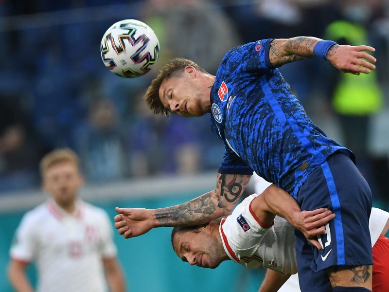 Europos futbolo čempionatas: Lenkija – Slovakija 1:2