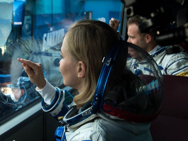 Maskva: didžioji dalis pirmojo filmo orbitoje jau nufilmuota