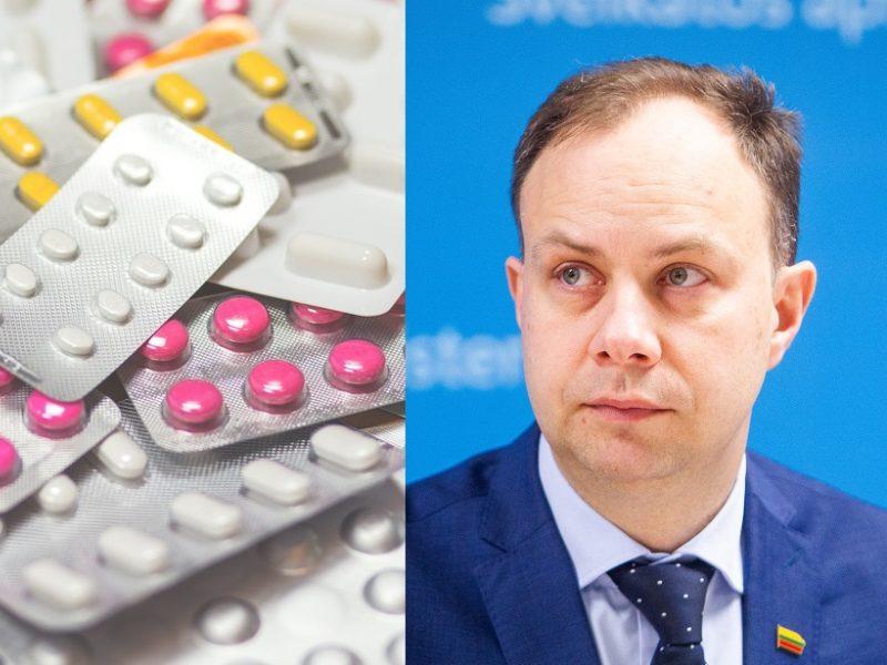 A. Veryga: nauja kompensuojamųjų vaistų išdavimo tvarka nekelia rizikos pacientams
