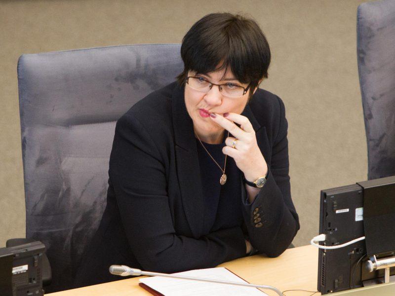 E. Žiobienė paskirta vaiko teisių apsaugos kontroliere trečiai kadencijai