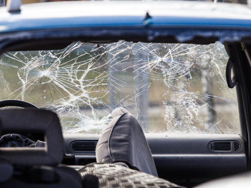 """Kelyje """"Via Baltica"""" – neblaivaus vairuotojo sukelta avarija"""
