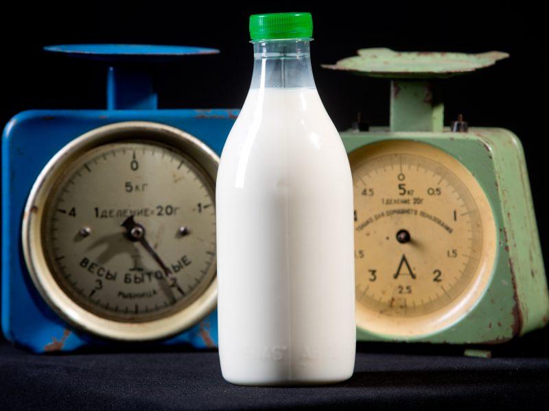 Pieno supirkimo kaina šiek tiek sumažėjo