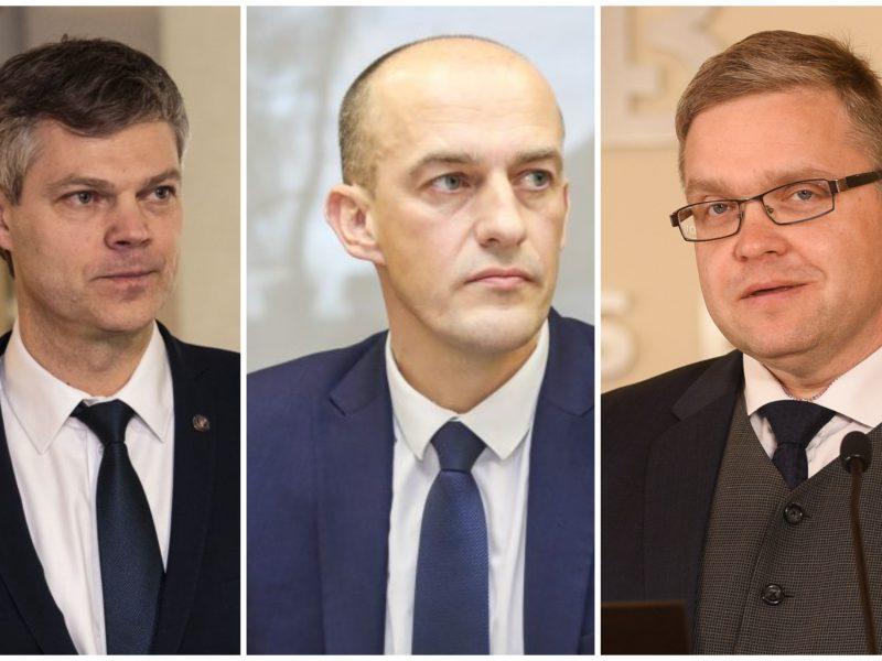 Tyrimas: įtakingiausi tarnautojai – D. Jauniškis, Ž. Bartkus, V. Vasiliauskas