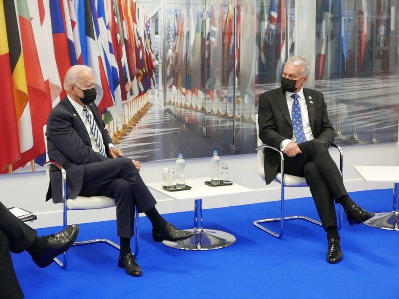 G. Nausėda: JAV prezidento žinia – kad penktasis NATO sutarties punktas – šventas