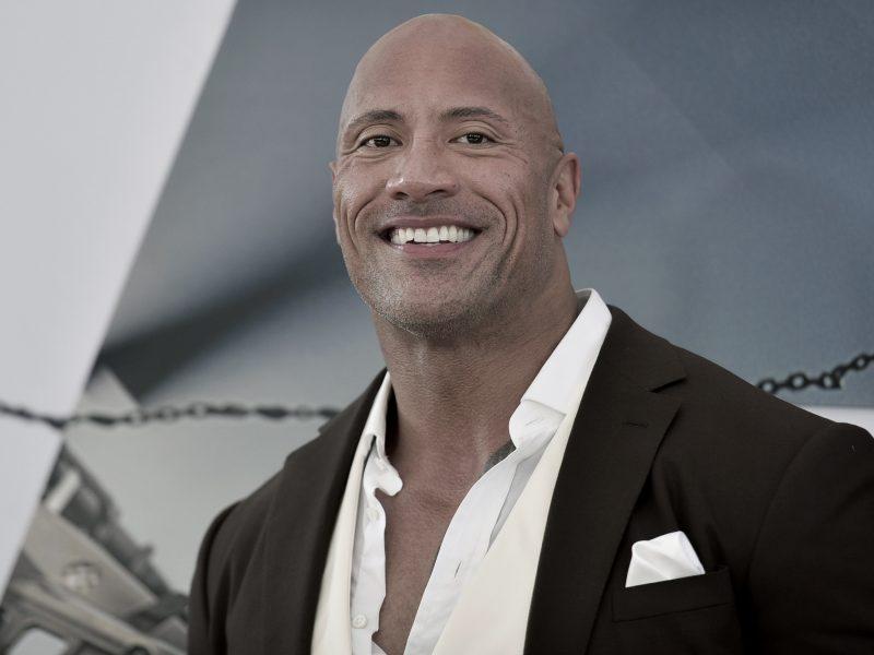 D. Johnsonas – daugiausiai uždirbantis pasaulio aktorius