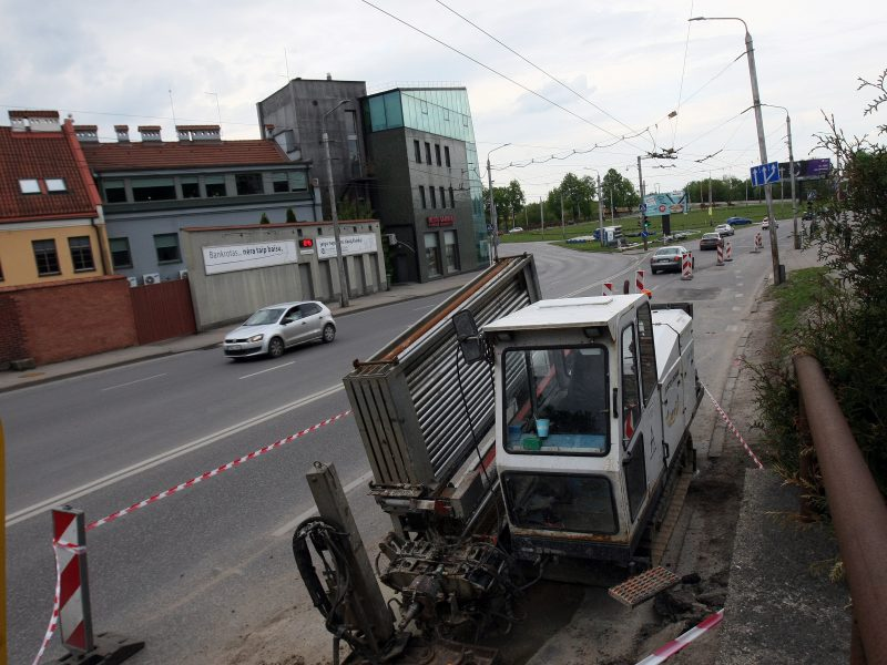 Kauno pilies žiedinė sankryža ruošiama rekonstrukcijai