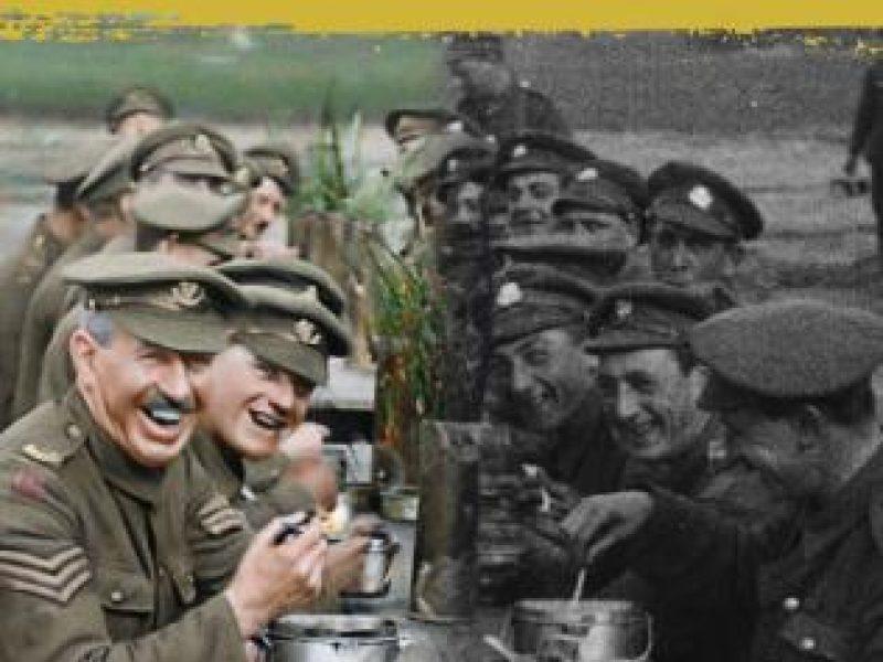 Kino kūrėjas P. Jacksonas naujame 3D filme atgaivino Pirmojo pasaulinio karo vaizdus