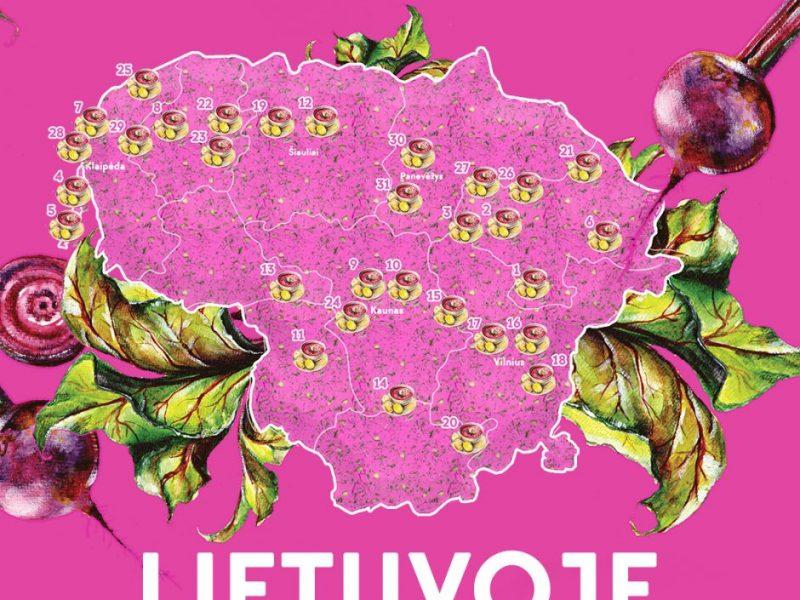 """""""Keliauk Lietuvoje"""" vadovas kviečia išbandyti ką tik sukurtą šaltibarščių žemėlapį"""