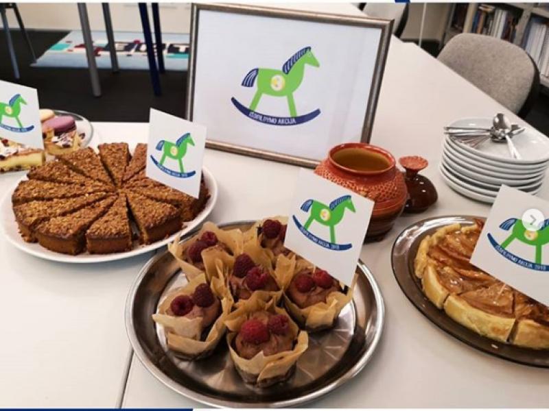 """""""Pyragų dienos"""" iniciatyvai paaukota 40 tūkst. eurų"""