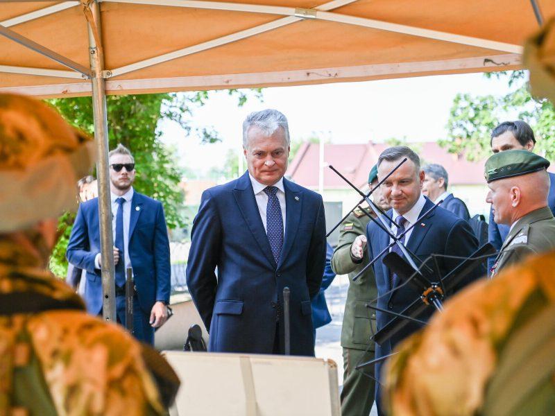 A. Duda tikisi, kad Lenkija suteiks paramą Lietuvai dorojantis su migrantų krize