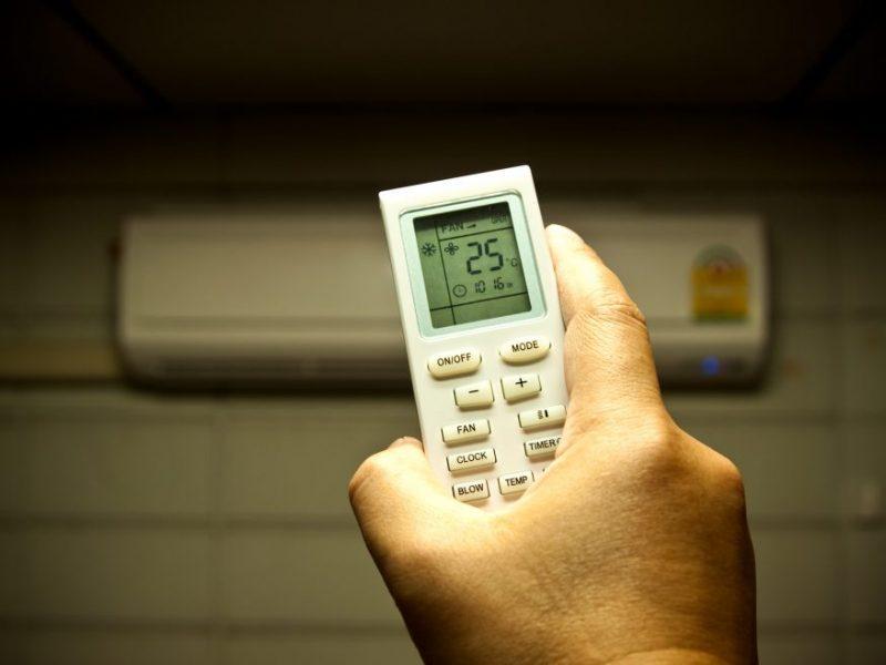 Termometro stulpelis muša rekordus – metas įsigyti oro kondicionierių