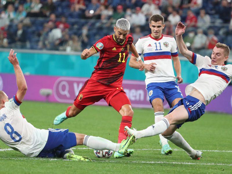 EURO 2020: Belgija – Rusija 3:0
