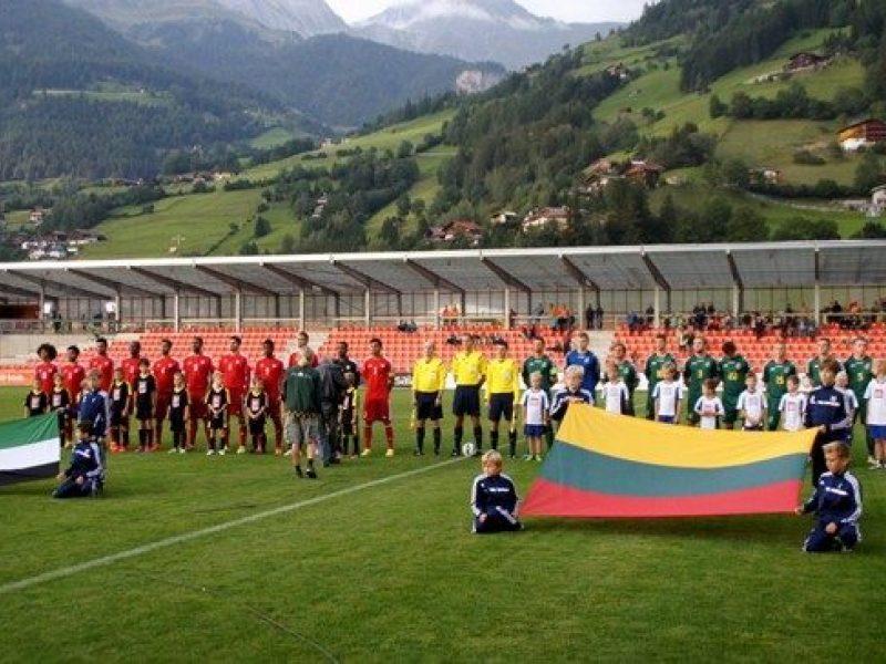 Lietuvos futbolininkai nugalėjo Naująją Zelandiją