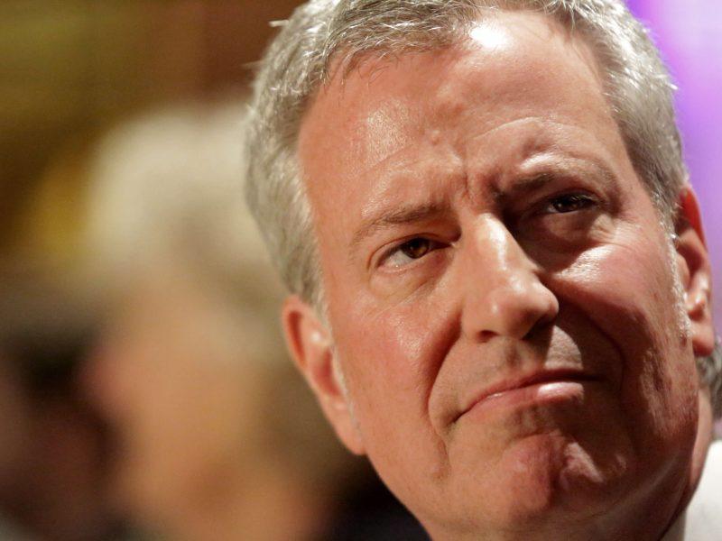 Niujorko meras paskelbė kandidatuosiantis 2020-ųjų JAV prezidento rinkimuose