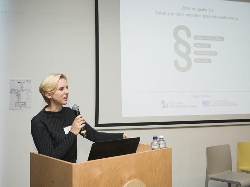 Traukiasi Lietuvos architektų rūmų pirmininkė D. Veličkaitė