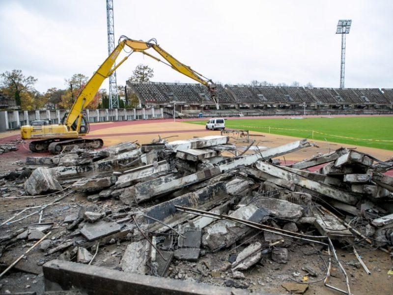 Kauno stadioną tikisi pabaigti per pusantrų metų: sudėtingiausi darbai jau atlikti