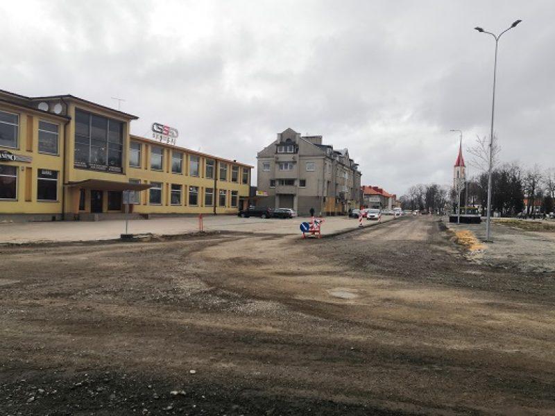Dėl Vilniaus gatvės Kretingoje rekonstrukcijos – eismo pokyčiai