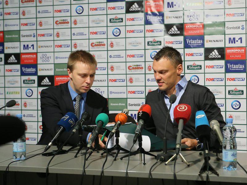 """""""Žalgirio"""" vadovas – apie nepakeičiamą Š. Jasikevičių ir naują komandos kryptį"""