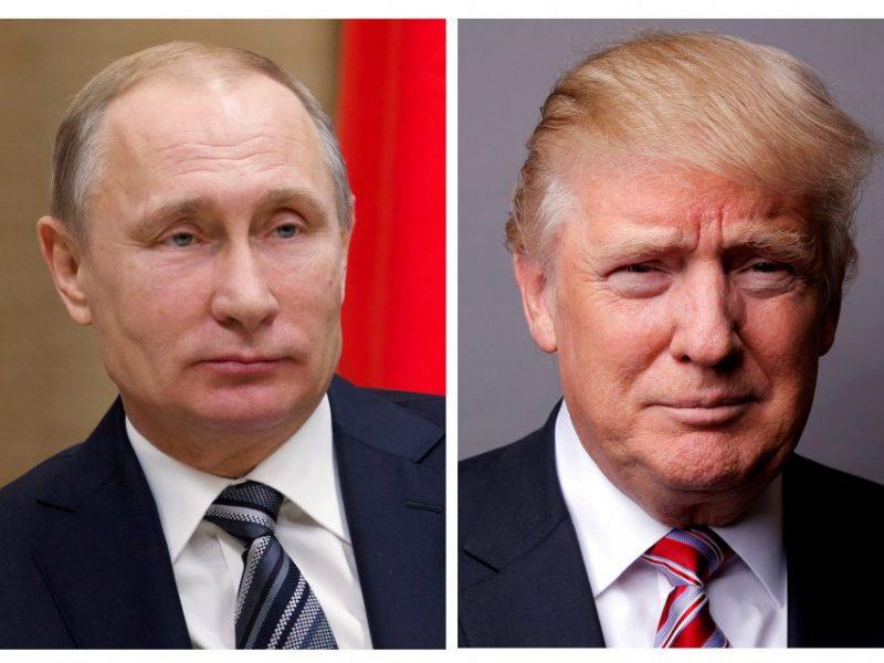 Jau liepą gali įvykti D. Trumpo ir V. Putino susitikimas