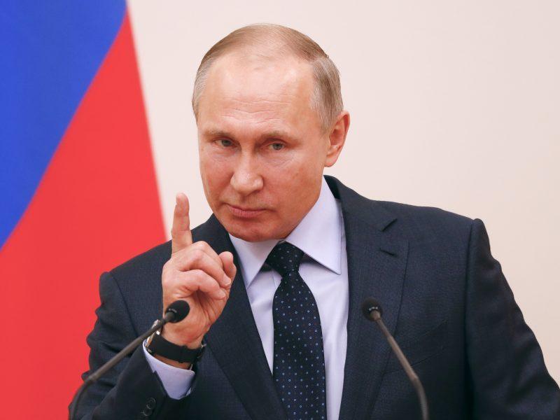 V. Putinas dalyvaus Libijos taikos konferencijoje Berlyne
