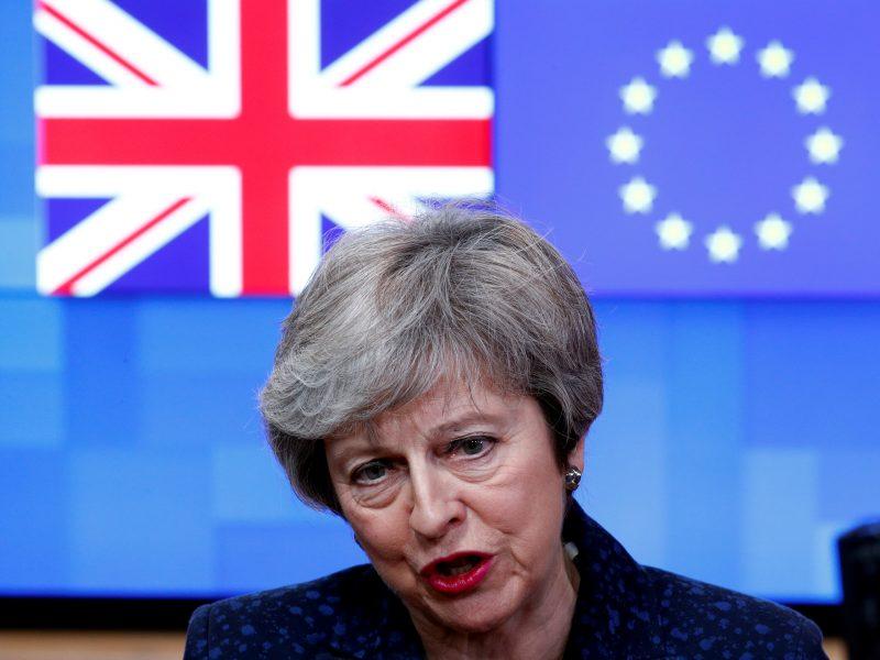 """ES """"Brexit"""" derybininkas ragina Th. May tiksliai išdėstyti planus"""