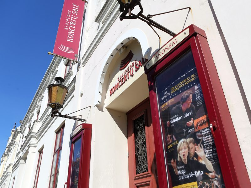 Klaipėdos koncertų salė švenčia sukaktį – 15 metų namuose, kuriuose gyvena muzika