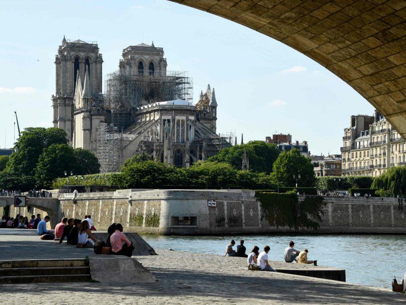 Architektas: Paryžiaus Dievo Motinos katedra dar nėra visiškai išgelbėta