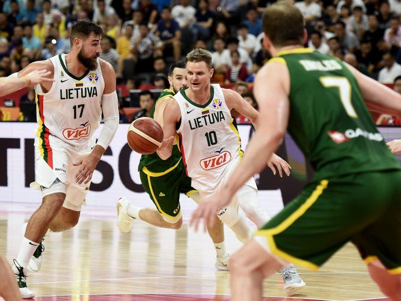 Nesėkminga kova dėl pirmosios vietos grupėje: Lietuvos rinktinė nusileido Australijai