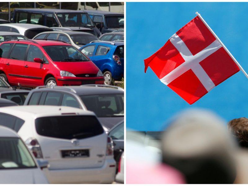 Danija nori uždrausti pardavinėti benzinu ir dyzelinu varomus automobilius