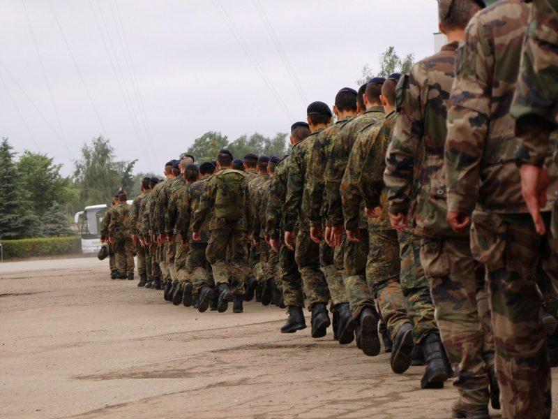Švenčionių rajone baigėsi karių pratybos: tikslai – pasiekti