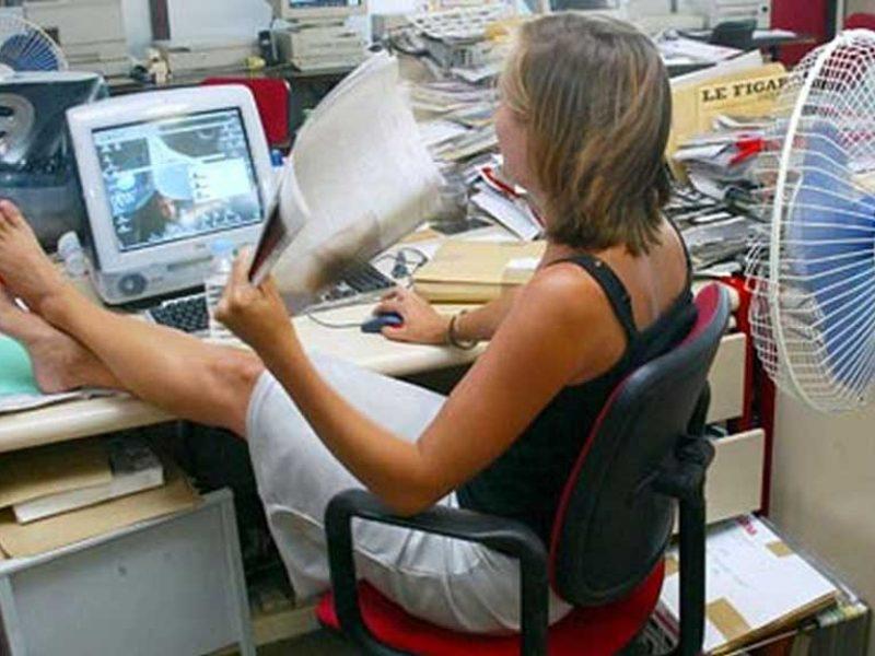Neraminanti situacija: daugėja darbuotojų skundų dėl per didelio karščio