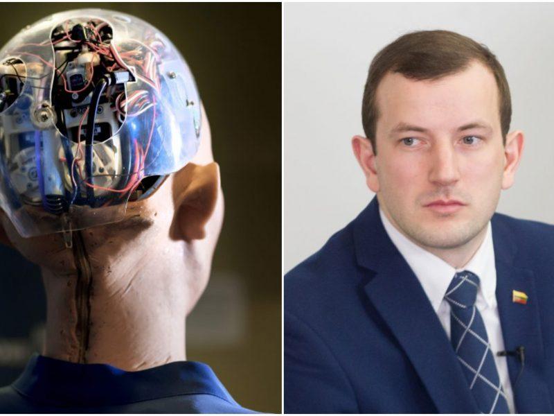 V. Sinkevičius: dirbtinio intelekto srityje Lietuva gali mesti iššūkį ES valstybėms