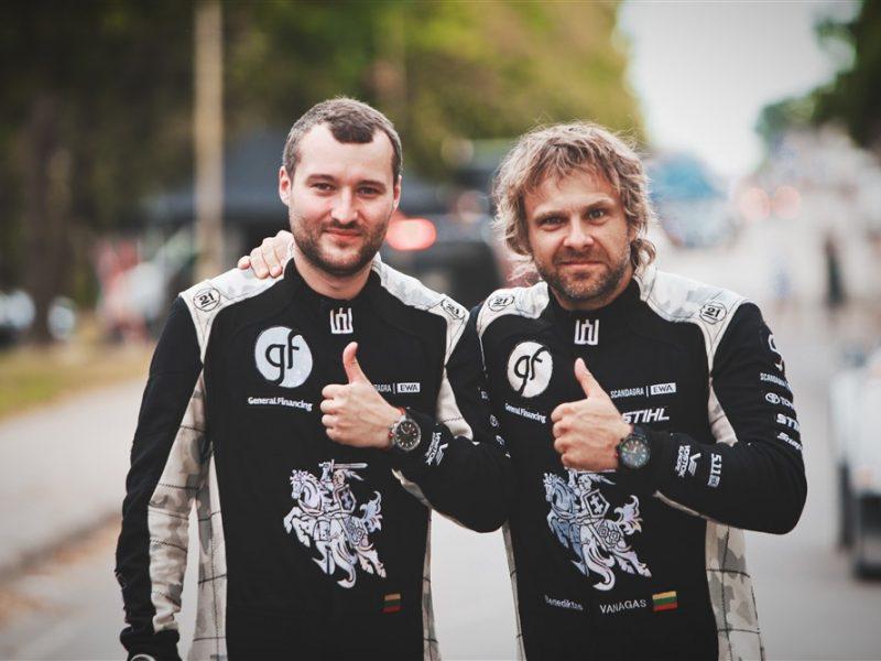 Poilsiui laiko nėra: lenktynininkas B. Vanagas ruošiasi Estijos raliu