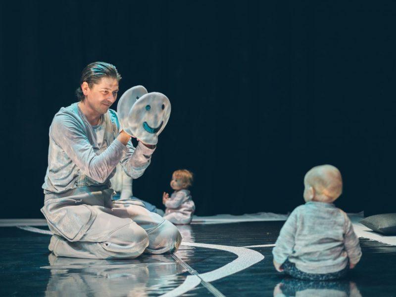 Klaipėdos lėlių teatre – interaktyvaus spektaklio kūdikiams premjera