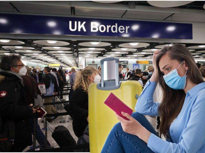 Moteris patyrė košmarą: keleivės statusą oro uoste tikrino aštuonias valandas