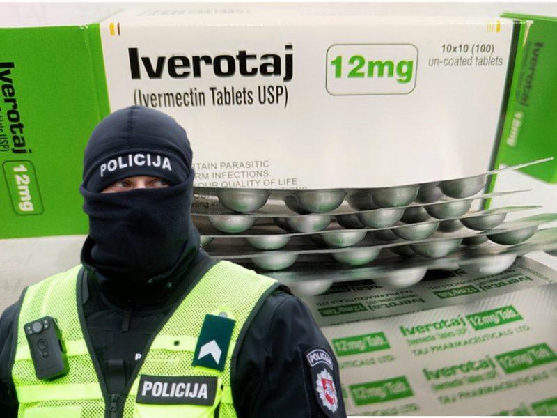 """Pareigūnų """"laimikis"""": konfiskavo tūkstančius """"koronaviruso vaistų"""" tablečių"""